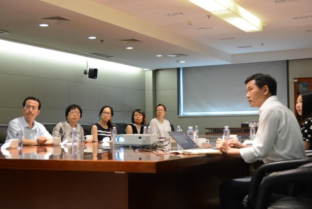 专家组对北京市脐血库的血液安全技术工作高度认可